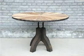 Reclaimed Wood Bistro Table Combine 9 Industrial Furniture Industrial Reclaimed Wood