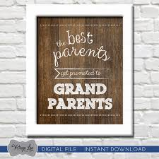 grandparent christmas ornaments the best parents get promoted to grandparents pregnancy