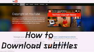 download youtube video with subtitles online how to download youtube subtitles and convert to subrip srt