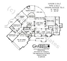 house plans with outdoor living space amicalola cottage rustic style house plan