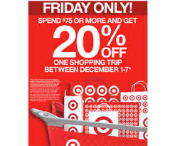 target black friday weekend sales black friday deal to get 20 off one shopping trip creates buzz