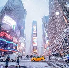 the times square winter travel beautiful places in the world