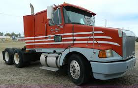volvo semi truck 1992 volvo wiam semi truck item bt9853 sold december 3
