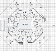 Floor Plan Event by Floor Plan Of Rounds Including A Sweetheart Table Near The Dance