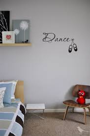dance wall art decals love dancing rain storm vinyl cute