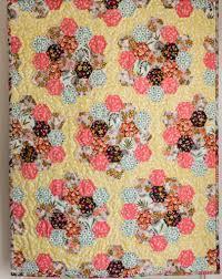 flower garden quilt pattern making a hexie quilt u2013 grandma u0027s suffolk garden the crimson rabbit