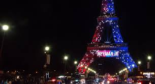 eiffel tower christmas lights football 1 0 terrorism neymar sets eiffel tower alight where daesh
