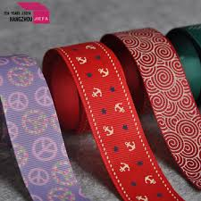 custom grosgrain ribbon color printed grosgrain ribbon satin ribbon printer custom logo