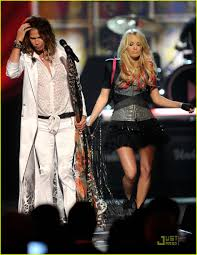carrie underwood u0026 steven tyler acm awards duet photo 2532663