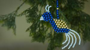 how to make bird christmas ornaments christmas decorations ideas