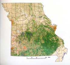 Mdc Map Terrestrial Natural Communities Of Missouri Mdc Discover Nature