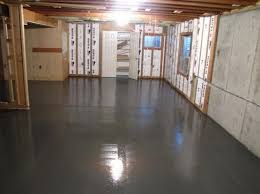 basement floor epoxy and sealer basement flooring ideas and