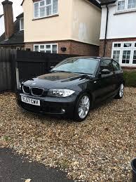 bmw 1 series 3 door for sale bmw 1 series m sport 118i black petrol 3 door hatchback 2 litre