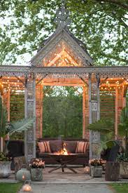 Gazebo Fire Pit Ideas by 870 Best Outdoor Living Images On Pinterest Outdoor Patios
