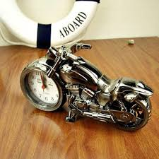 motorcycle alarm clock model retro alarm clock personalized