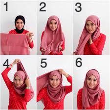 tutorial jilbab remaja yang simple 25 kreasi tutorial hijab pashmina simple terbaru 2018