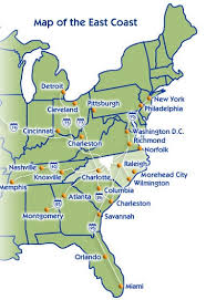 map eastern usa states cities map united states and cities map of mexico with states
