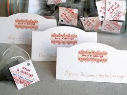 wedding tea autumn wedding tea favors weddings ideas from evermine