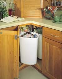 Kitchen Cabinet Trash Can 6 Functional Options Of Trash Cans For Your Kitchen Interior Design