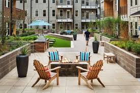 dallas multi family project recognized with best outdoor living