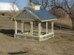 covered sandbox farm style with cupola galvanized roof and wire