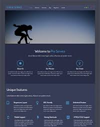 lt blue service onepage u2013 free one page responsive service joomla