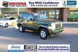 certified pre owned 2009 jeep liberty sport sport utility in mesa