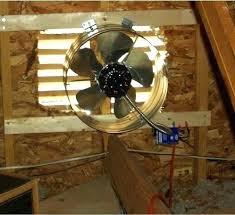 gable attic fan installation gable attic fan gable attic fan attic fan installation gable attic