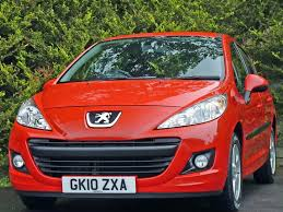 peugeot red used flame red peugeot 207for sale dorset