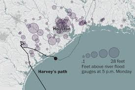 Map Houston Tx Before And After Photos Of Harvey Flooding In Texas Washington Post