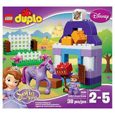 lego duplo disney sofia sofia royal stable
