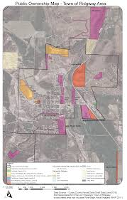 Land Ownership Map Maps Of Public Land Ownership Ouray County Rocc Ridgway