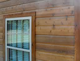 vinyl siding that looks like cedar the look of a log home without