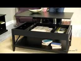 black lift top coffee table belham living hton lift top coffee table black youtube