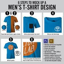 men u0027s t shirt mockup templates 01 thevectorlab