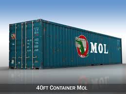 40ft shipping container mol 3d model in shipping containers 3dexport