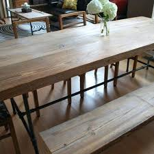 dining table long narrow dining table with leaves oval leaf