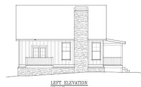 Floor Plans For Small Cabins Small Cabin Plan With Loft Small Cabin House Plans