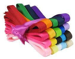 ribbon grosgrain hipgirl 40 yards 3 8 grosgrain fabric ribbon set for