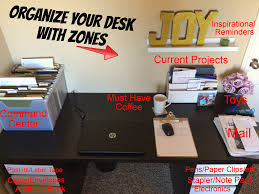 Organize Your Desk by Organize Your Desk With Zones Organized Joy Llc Professional