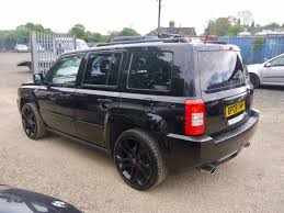 jeep limited black used 2008 jeep patriot 2 4 cvt limited 4x4 in black black