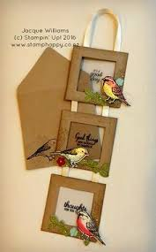 framed greeting cards handmade greeting card using best birds three connected frames