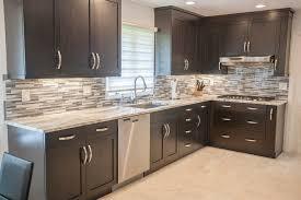 meubles de cuisine en kit meuble de cuisine marron maison et mobilier d intérieur