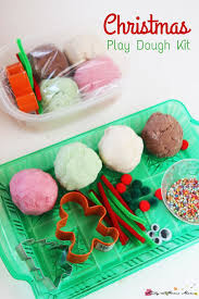 christmas play dough kit sugar spice and glitter