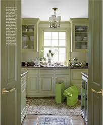 Olive Green Kitchen Cabinets Benjamin Moore Aganthus Green Paint Wallcovering Pinterest