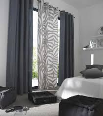 rideau voilage cuisine deco salon gris collection avec rideaux