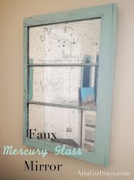 how to fix cracked glass window diy faux mercury glass window pane mirror mercury glass spray