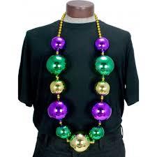 mardi gras beeds big balls necklace mardigrasoutlet