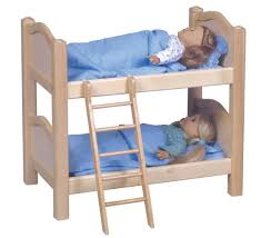 Doll Bunk Bed White Walmartcom - Dolls bunk bed