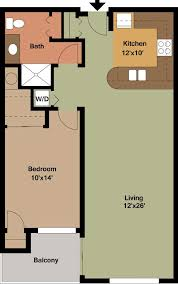 one bedroom floor plan one bedroom apartment floor plans archives edge on apartments